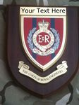Royal Corps of Engineers Personalised Military Wall Plaque